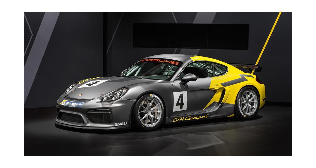 Porsche Cayman GT4 Clubsport : la 911 GT3 Cup fait des petits