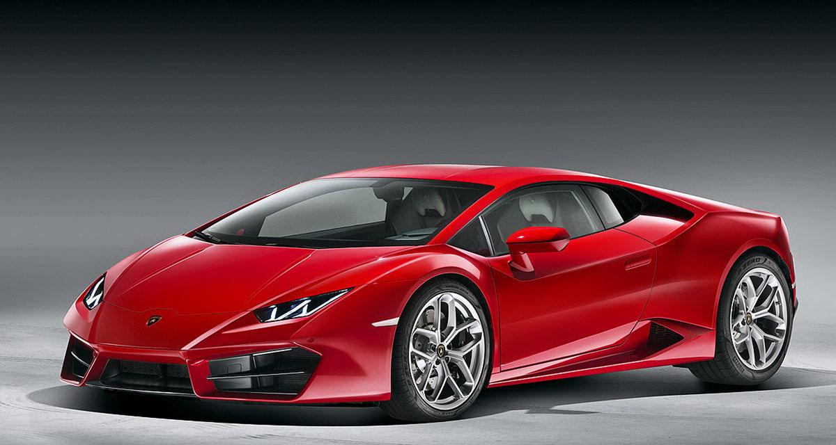 Lamborghini Huracan LP 580-2 : arrière toute !