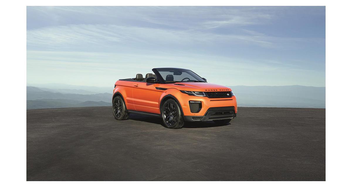 Range Rover Evoque Convertible : SUV, premium et cabrio