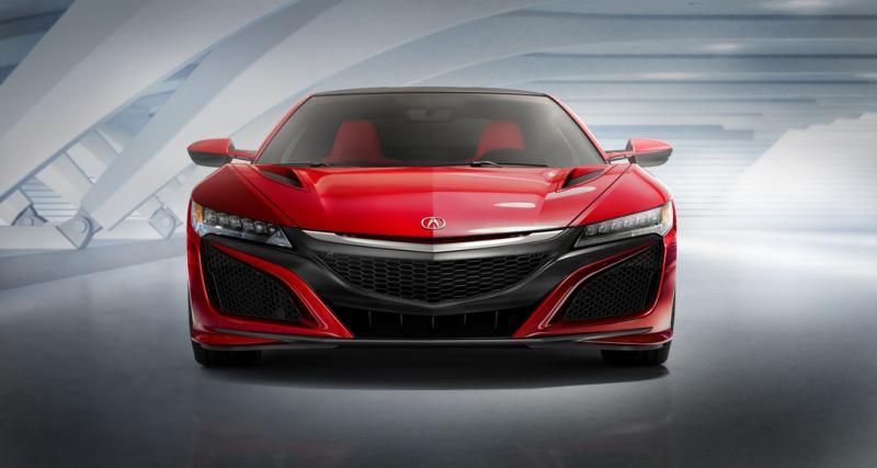 Nouvelle Honda NSX : 580 ch et 307 km/h