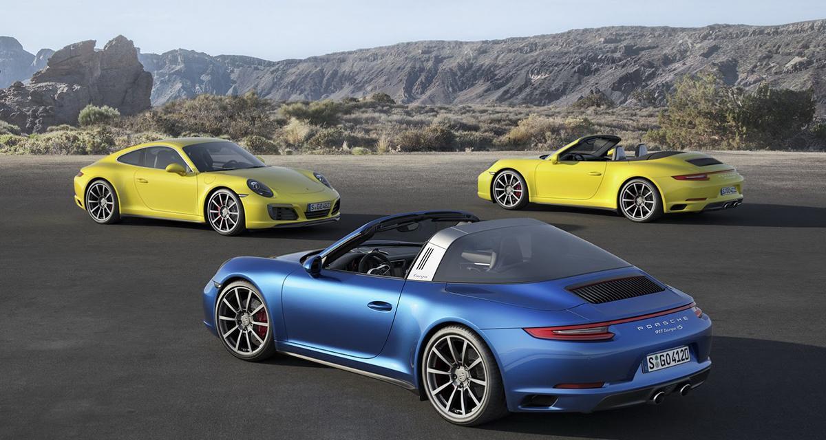 Nouvelle Porsche 911 : les Carrera 4 et Targa passent aussi au turbo