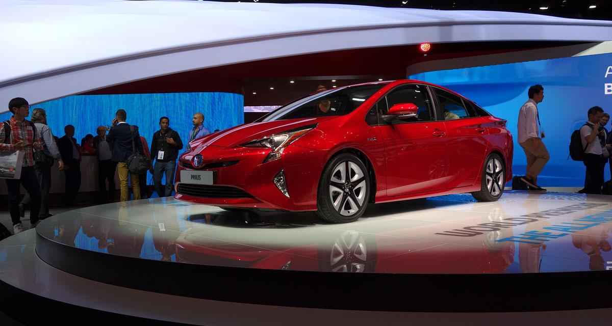Salon de Francfort 2015 : Toyota Prius 4