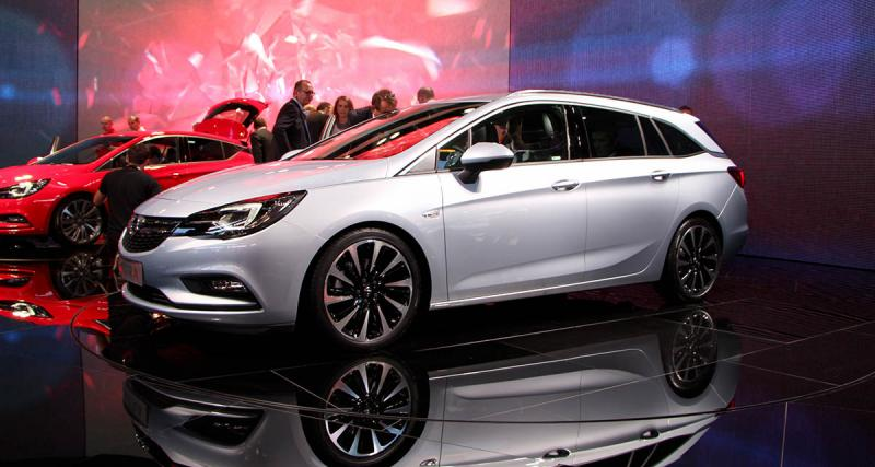 Salon de Francfort 2015 : Opel Astra et Astra Sports Tourer