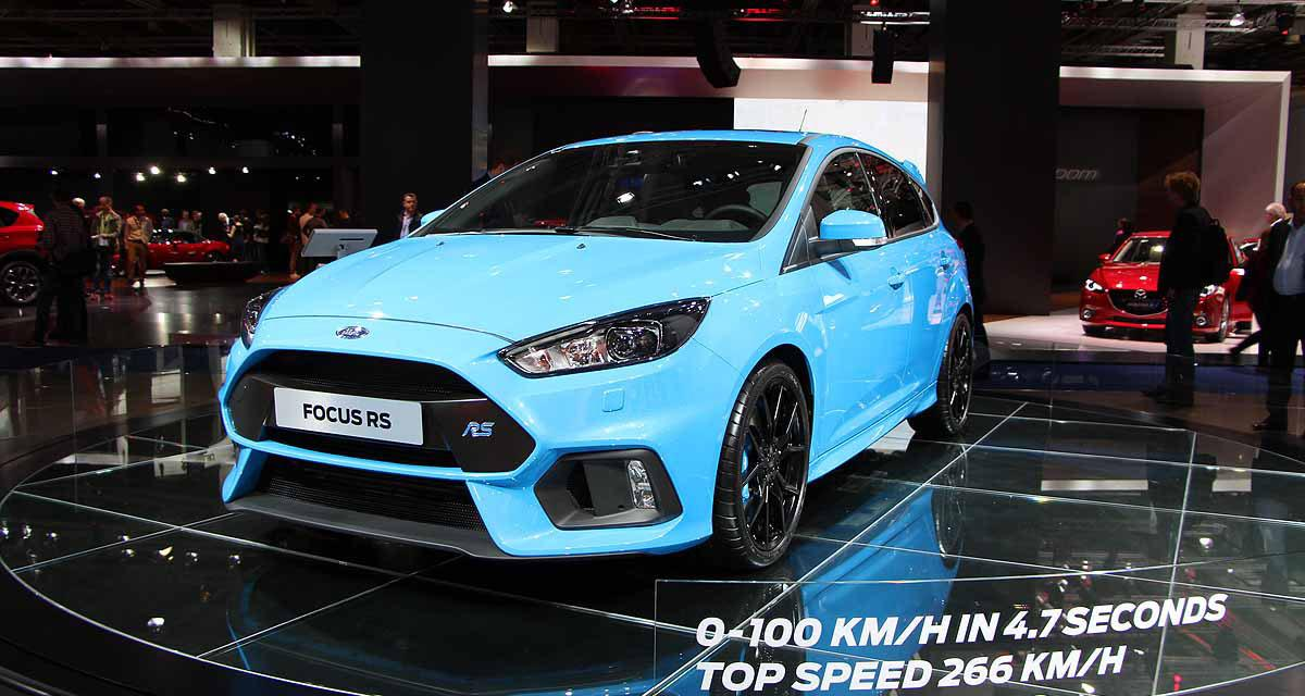 ford focus rs les performances et le prix officiels. Black Bedroom Furniture Sets. Home Design Ideas