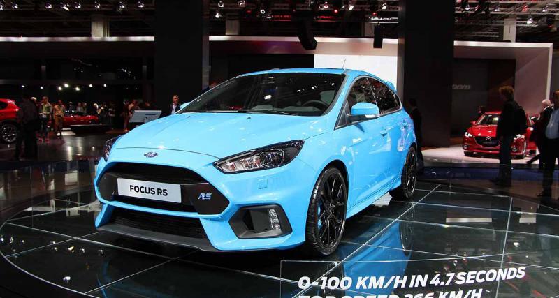 Ford Focus RS : les performances et le prix officiels
