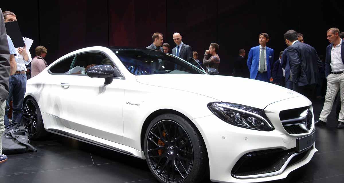 Francfort 2015 : Mercedes-AMG C 63 S coupé