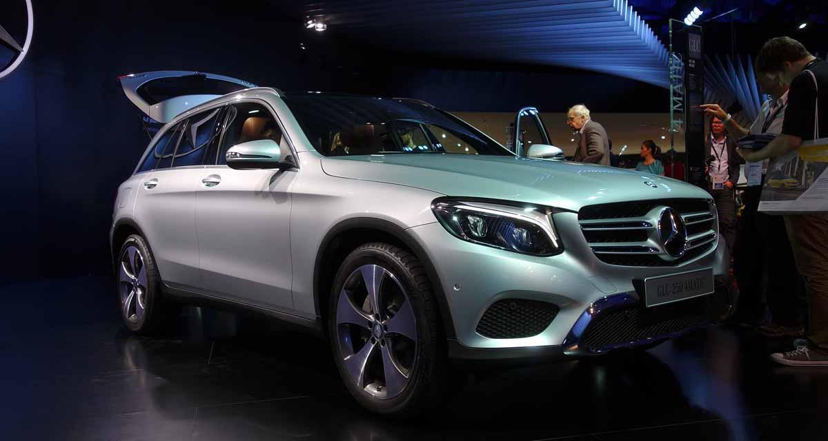 Salon de Francfort en direct : Mercedes GLC