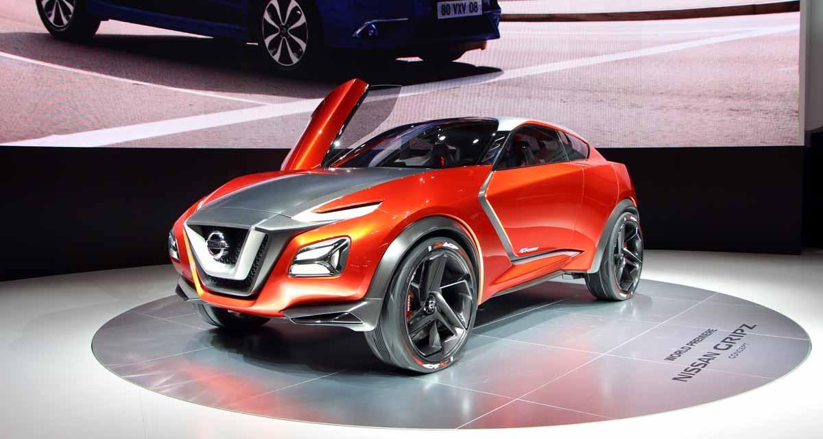 Salon de Francfort en direct : Nissan Gripz Concept