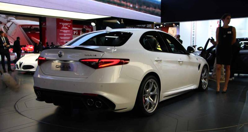 Salon de Francfort en direct : Alfa Romeo Giulia QV