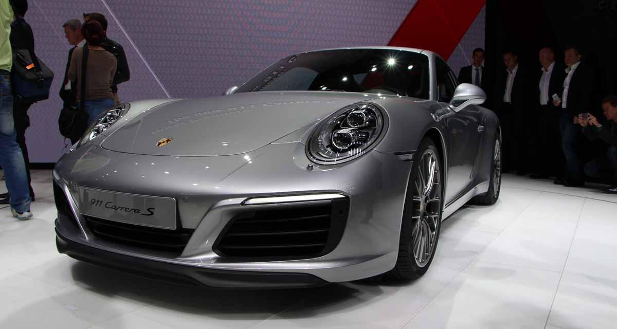 Salon de Francfort en direct : Porsche 911 restylée (2016)
