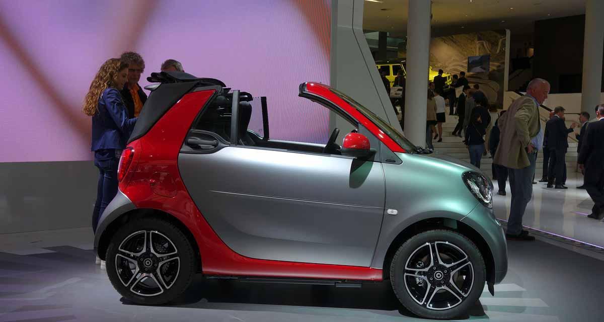 Salon de Francfort en direct : Smart Fortwo Cabrio