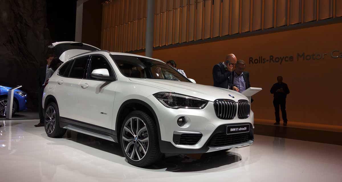 Salon de Francfort en direct : BMW X1