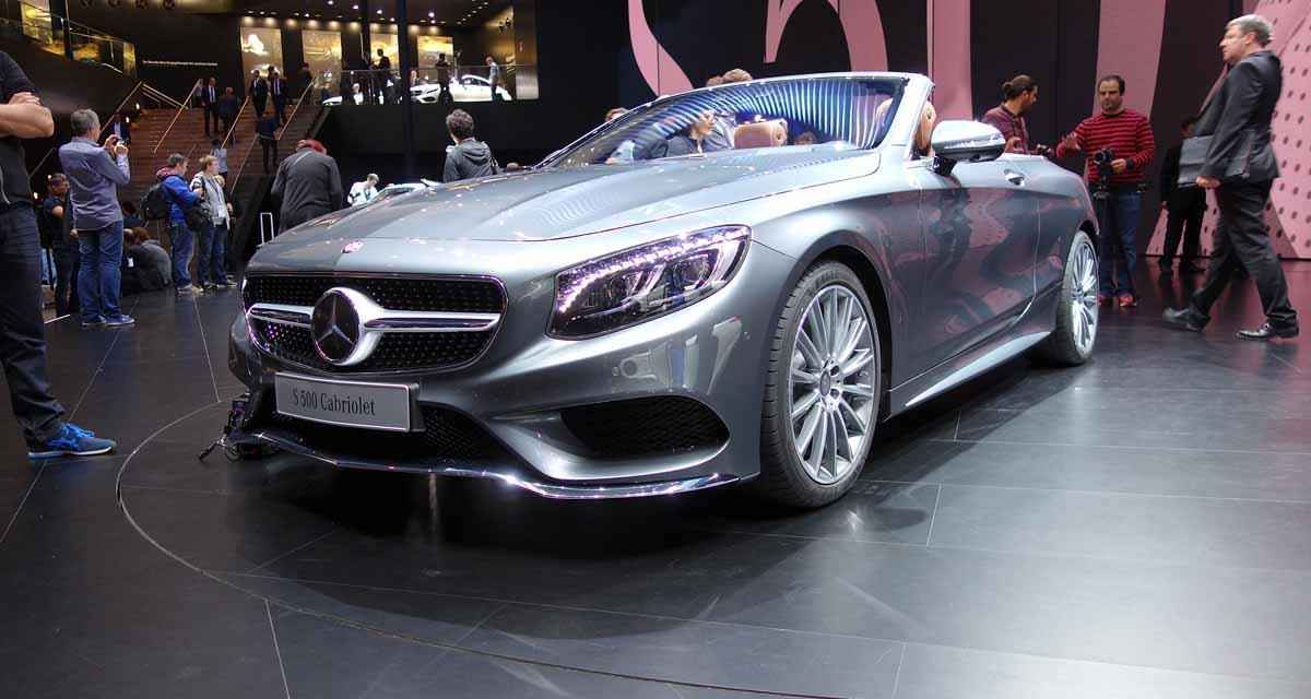 Salon de Francfort en direct : Mercedes Classe S Cabriolet