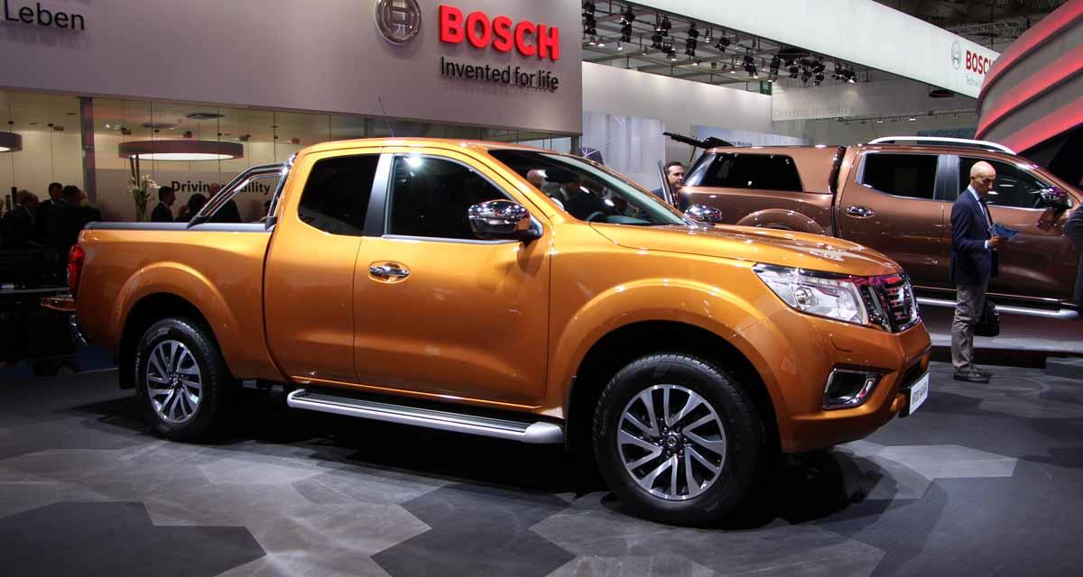 Salon de Francfort en direct : Nissan Navara