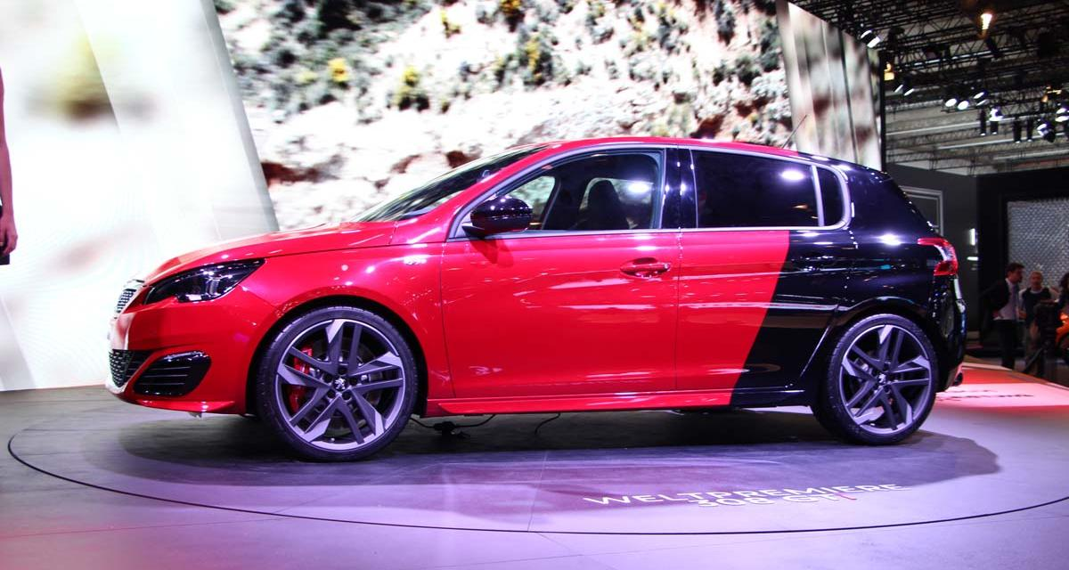 Salon de Francfort en direct : Peugeot 308 GTI