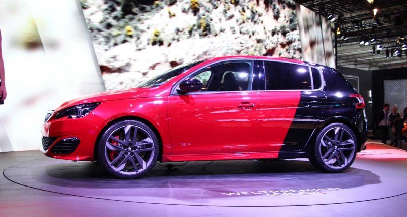 Salon de Francfort en direct : Peugeot 308 GTI