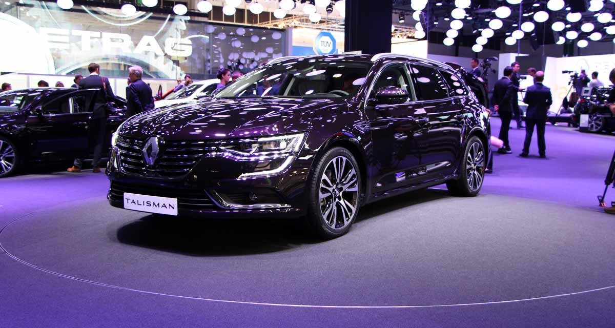 Salon de Francfort en direct : Renault Talisman Estate