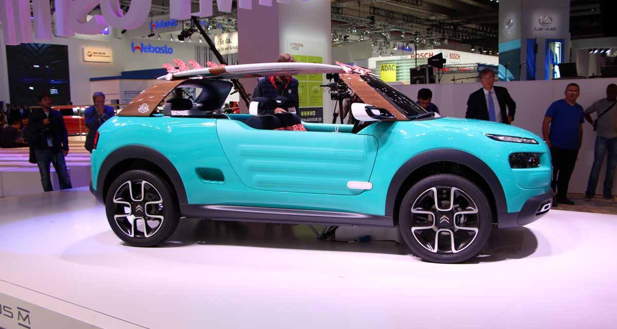 Salon de Francfort en direct : Citroën Cactus M, toutes les photos en direct