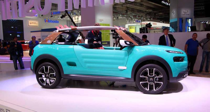 Salon de Francfort en direct : Citroën Cactus M, toutes les photos en direct