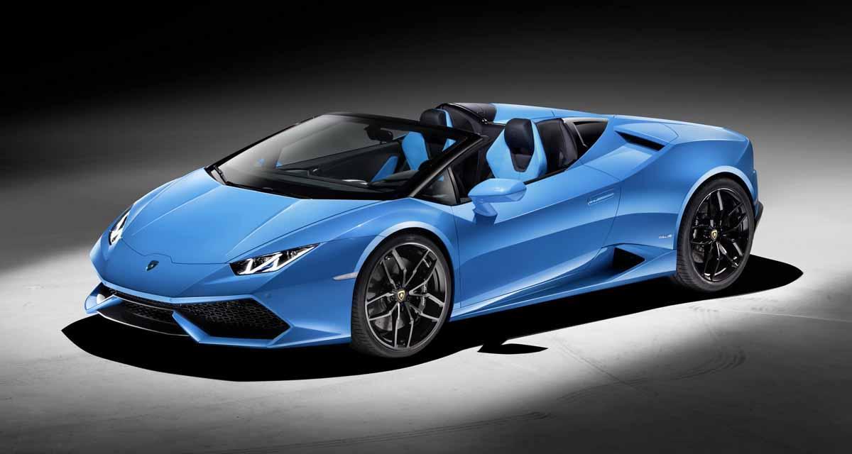 Salon de Francfort en direct : Lamborghini Huracan Spyder