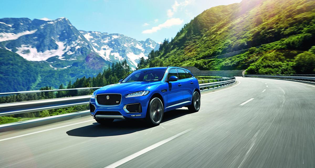 Salon de Francfort : Jaguar F-Pace