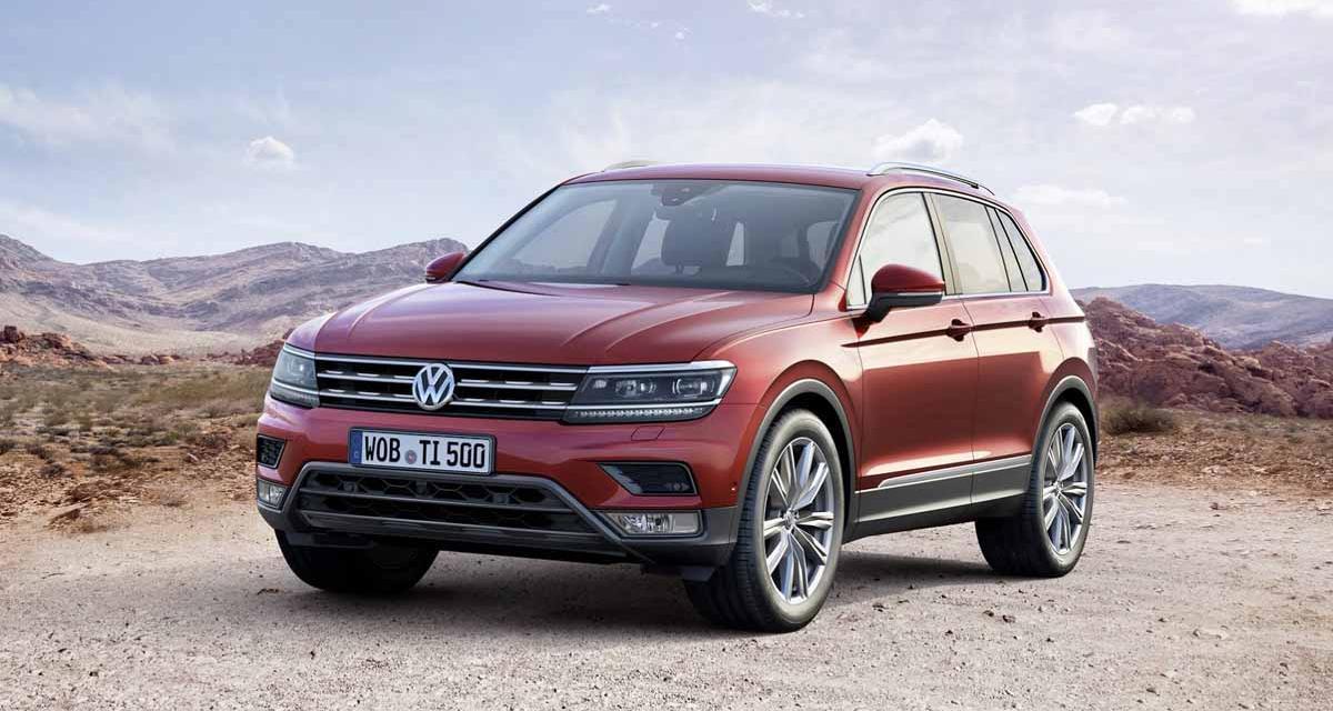 Salon de Francfort : Volkswagen Tiguan 2016