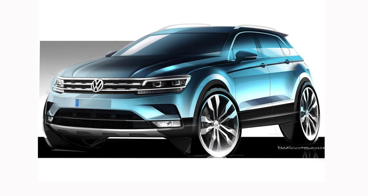 Nouveau Volkswagen Tiguan : dévoilé ce soir à Francfort