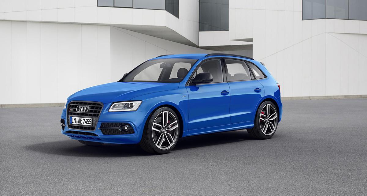 Audi SQ5 TDI plus : encore plus de puissance