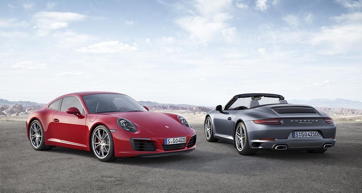 La Porsche 911 met le turbo à Francfort