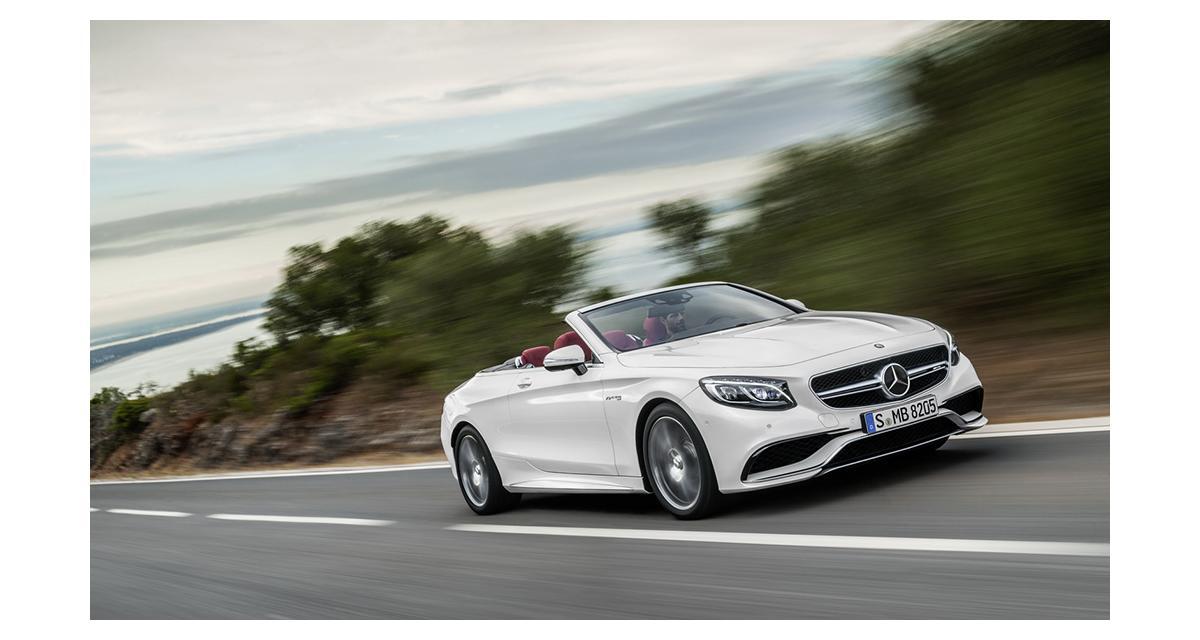 Mercedes Classe S cabriolet : le grand luxe à l'air libre