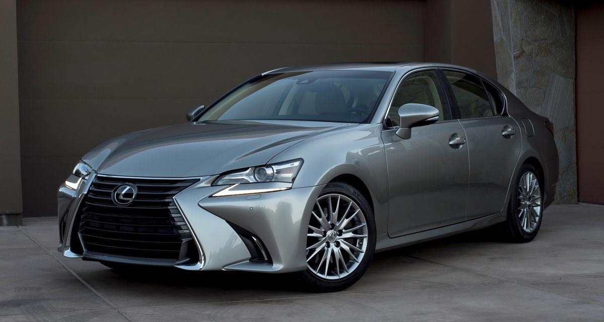 La Lexus GS se refait une beauté
