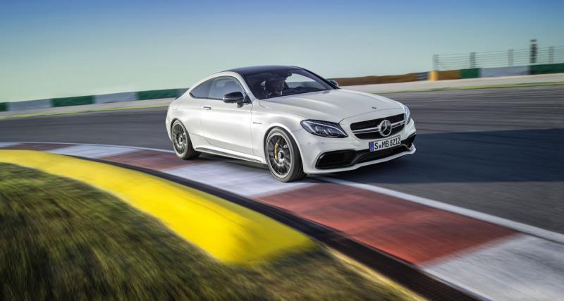 Mercedes Classe C Coupé : et maintenant, la version AMG