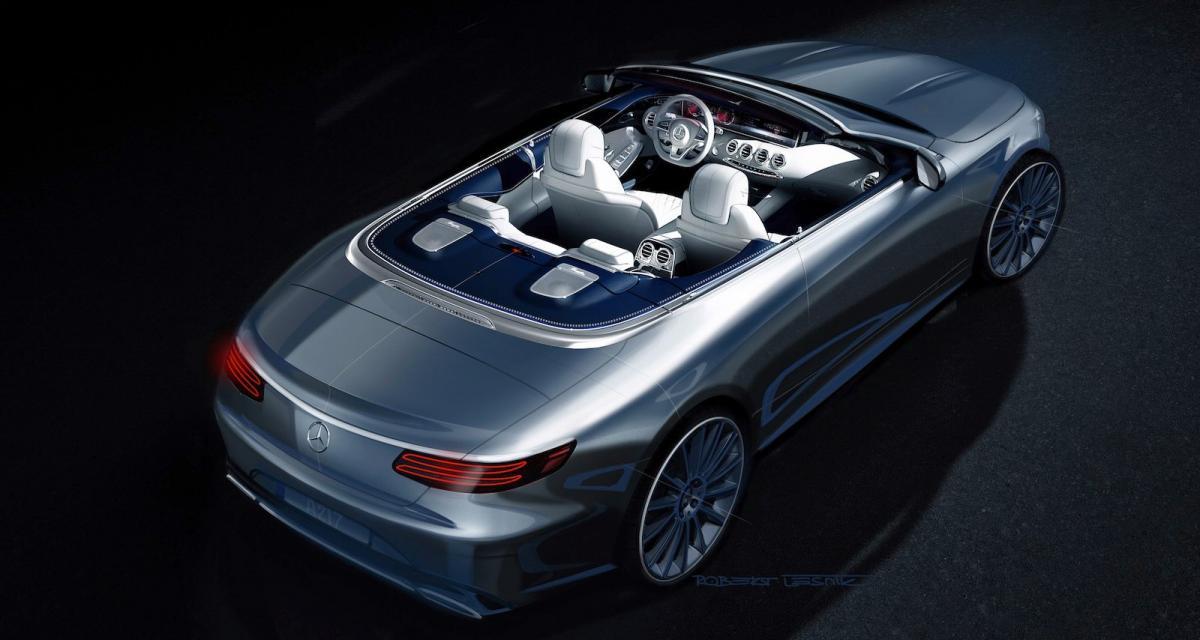 Mercedes Classe S Cabriolet : première image
