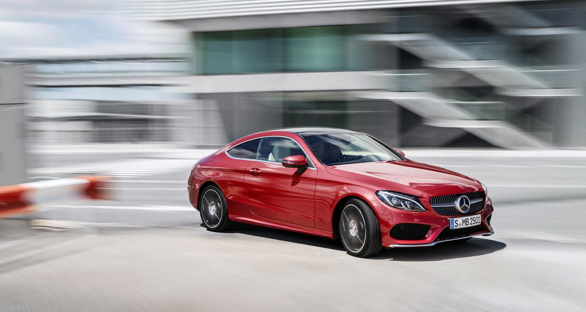 Salon de Francfort 2015 : Mercedes Classe C Coupé