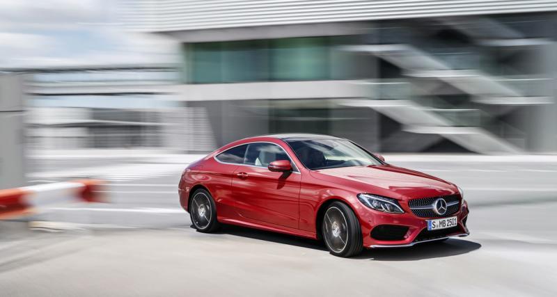 Salon de Francfort 2015 : Mercedes Classe C Coupé