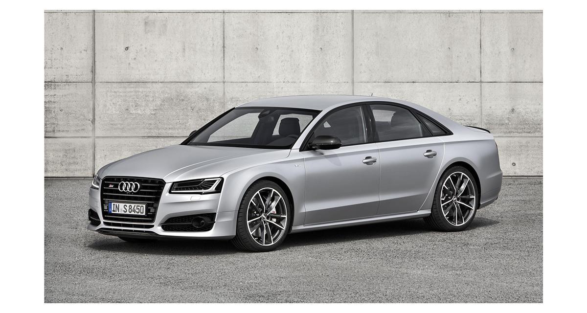 Audi S8 plus : une super limousine de 605 ch
