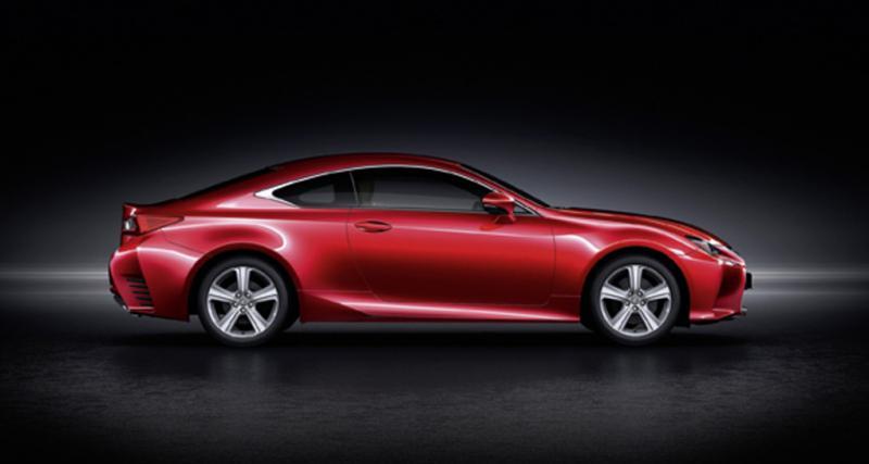 Lexus RC 200t : 245 ch pour Francfort