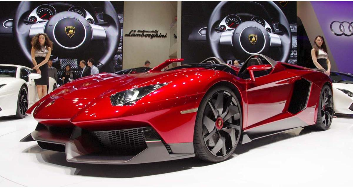 Lamborghini Aventador SV Roadster : elle sera à Pebble Beach