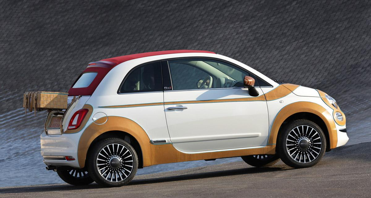Une Fiat 500 adjugée 55 000 euros
