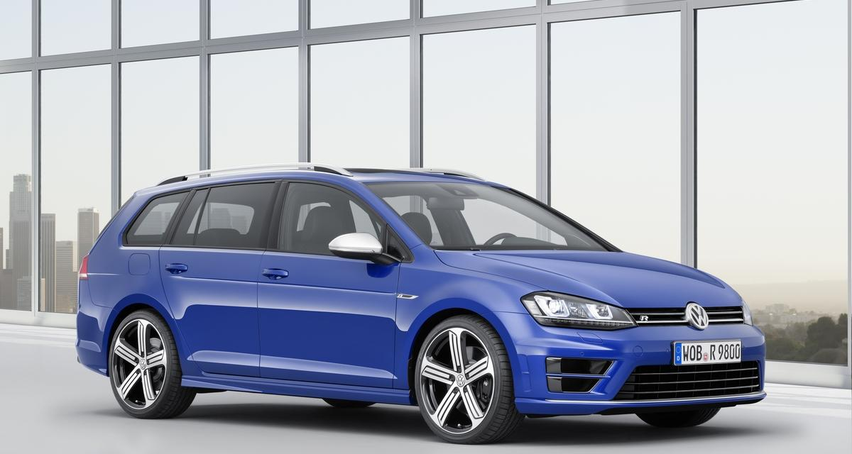 Volkswagen Golf R SW : les tarifs