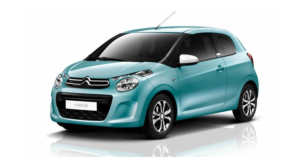 Citroën C1 : quelques petites douceurs pour l'été
