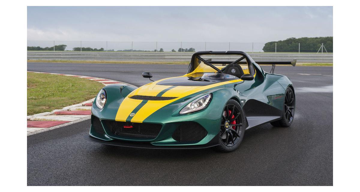 Lotus 3-Eleven : la Lotus de route la plus rapide de l'histoire