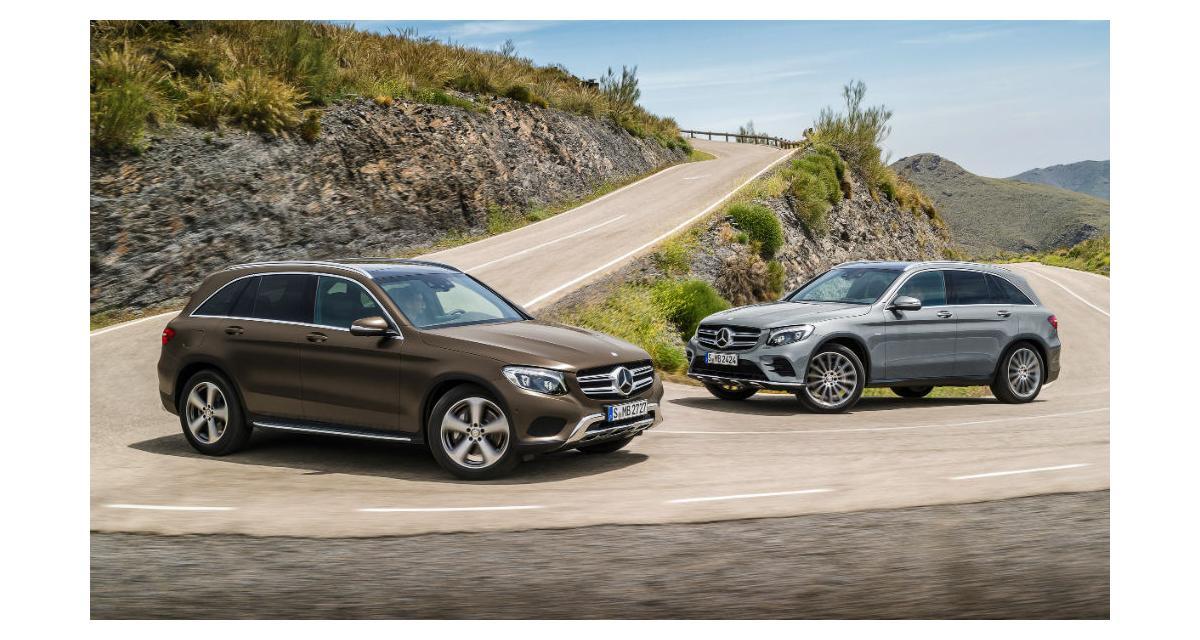 Mercedes GLC : l'Audi Q5 et le BMW X3 dans le collimateur