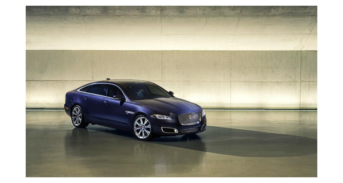 Jaguar XJ : un restylage pour la fin de l'année