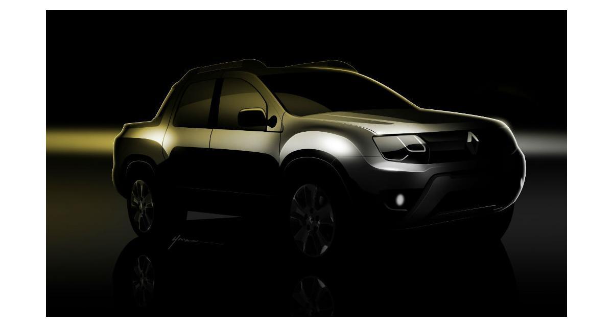 Renault : bientôt le pick-up Duster !