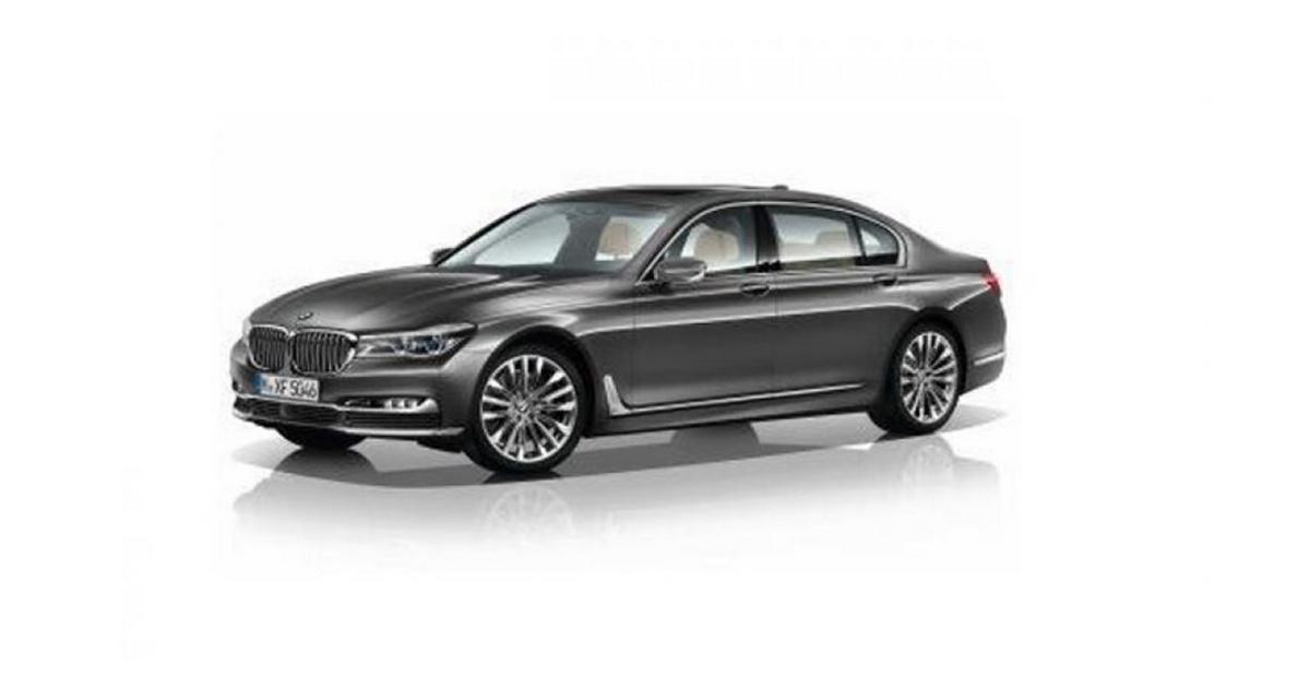 Nouvelle BMW Série 7 : première photo en fuite