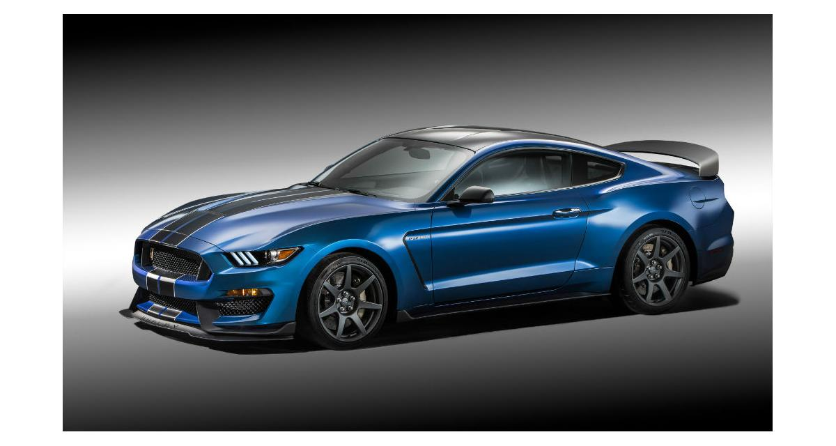 Ford Mustang : 526 ch pour la Shelby GT350