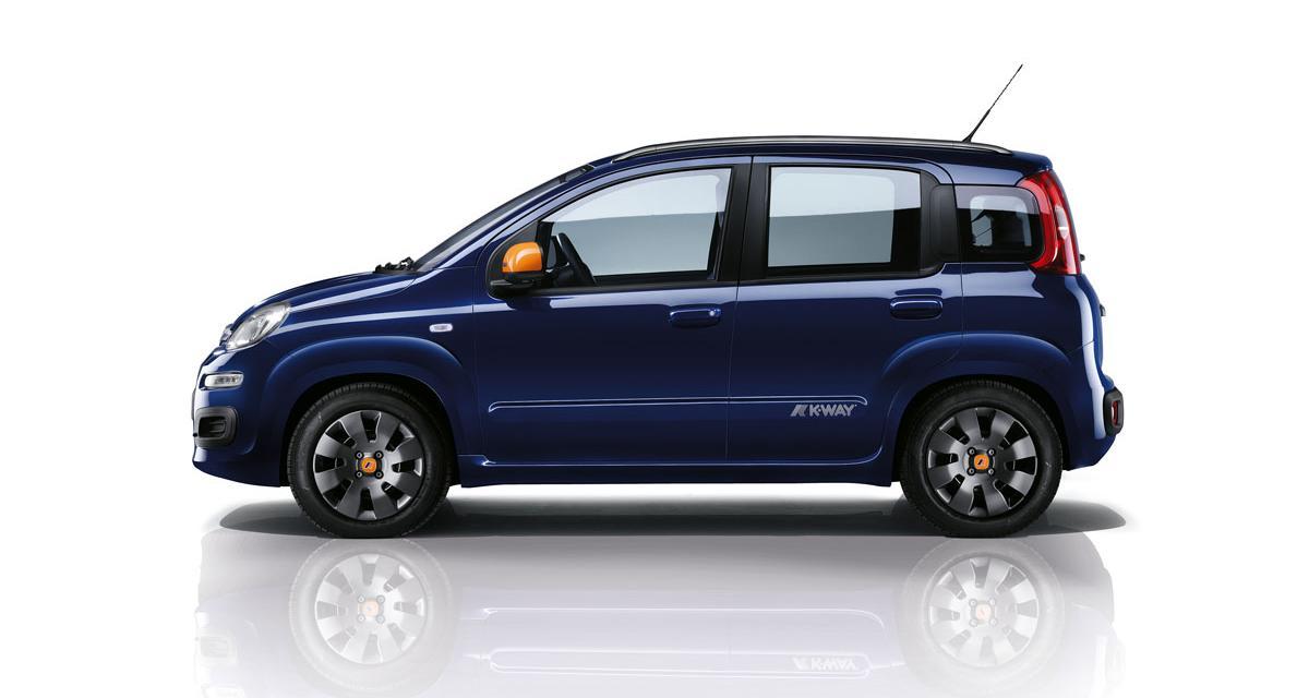 Fiat Panda K-Way : les tarifs et les photos de la série spéciale