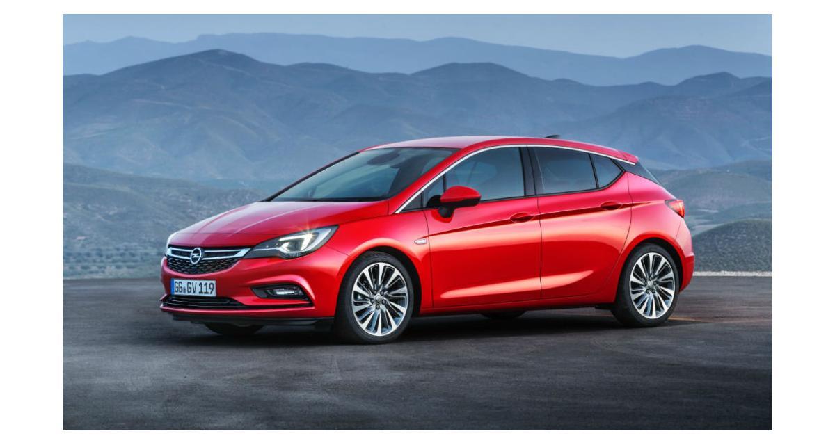Nouvelle Opel Astra: les photos et les infos officielles