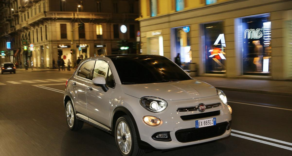 fiat 500x deux nouvelles bo tes pour le crossover de fiat. Black Bedroom Furniture Sets. Home Design Ideas